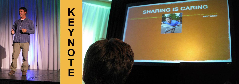 Keynote by Ryan Van Duzer at AVX 2011