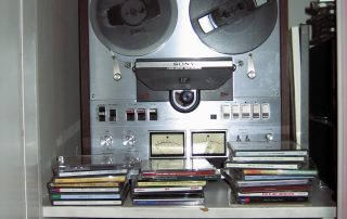 A customer's old reel-to-reel recorder