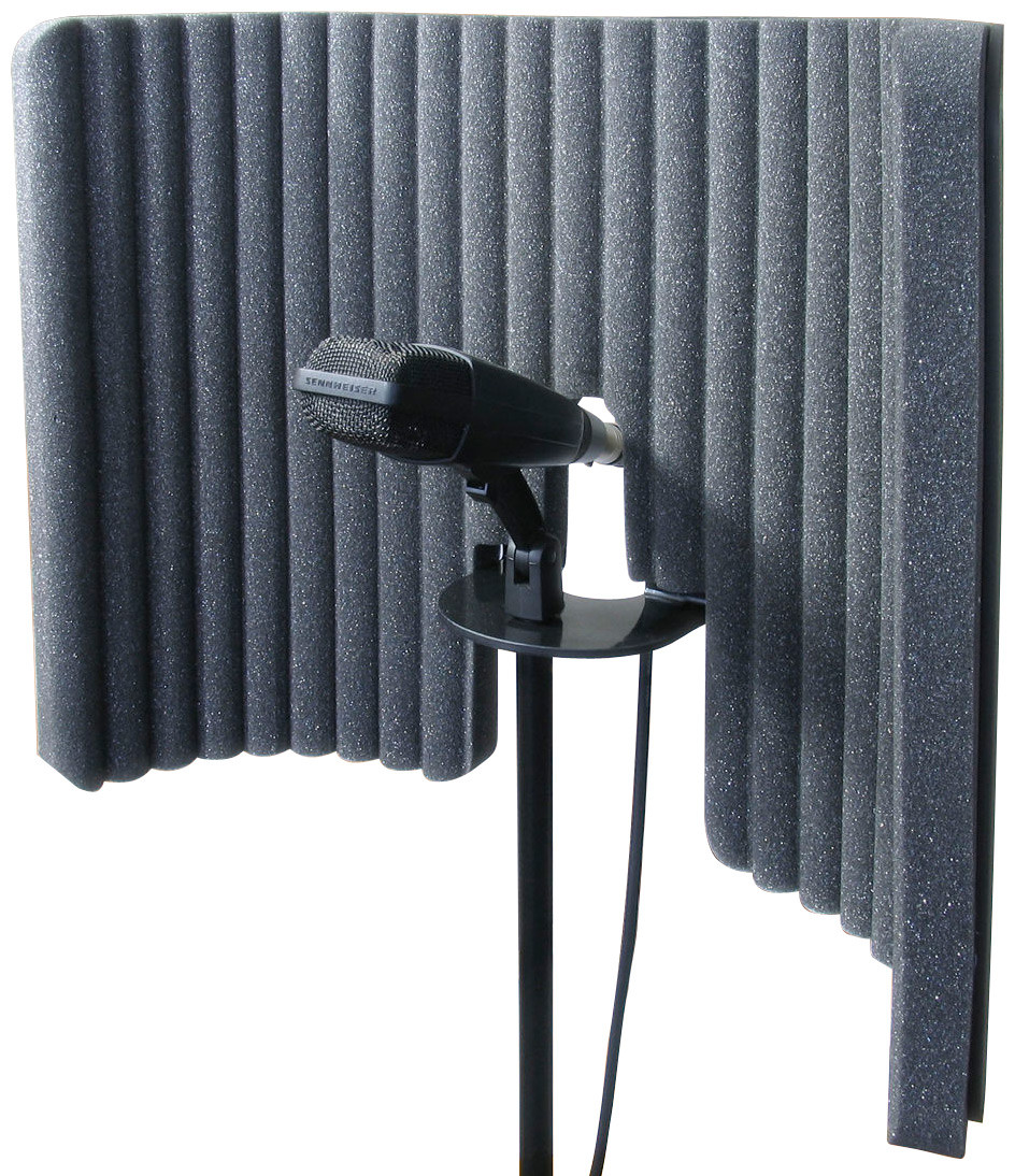 Podcast Recording Acoustic Gobo for your Microphone