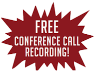 Free Conference Call Recording